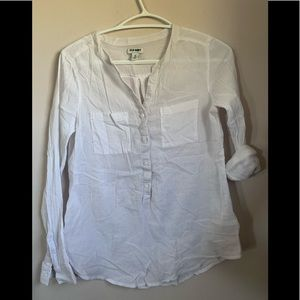 ❤️3 for $10❤️Old navy semi sheer cotton top